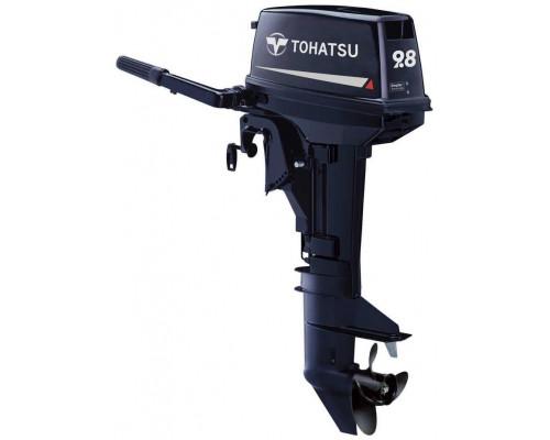 Tohatsu M9.8 L с длинной ногой - 2х-тактный лодочный мотор