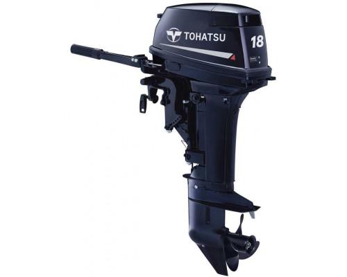 Tohatsu M18 EPS с дистанционным управлением - 2х-тактный лодочный мотор
