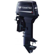 Tohatsu M40 EPOS с дистанционным управлением; впрыском масла - 2х-тактный лодочный мотор
