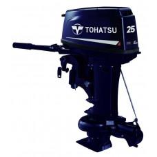 Tohatsu M25 JET с водомётной насадкой; длинной ногой - 2х-тактный лодочный мотор