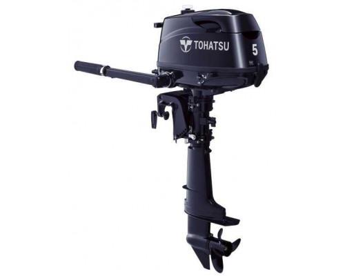 Tohatsu MFS 5 DS со встроенным бензобаком - 4х-тактный лодочный мотор