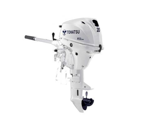 Tohatsu MFS 20 E White инжекторный - 4х-тактный лодочный мотор