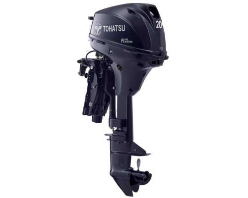 Tohatsu MFS 20 E EPTL инжекторный с дистанционным управлением и гидроподъёмником - 4х-тактный лодочный мотор