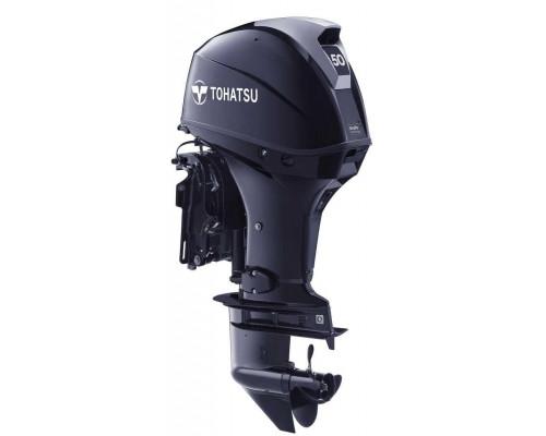 Tohatsu MFS 50 ETL с ДУ или румпелем, гидроподъёмником; длинной ногой - 4х-тактный лодочный мотор