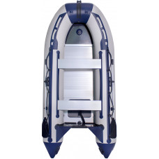 Лодка SMarine Standart-330 килевая, с алюминиевым пайолом и стрингерами - моторная надувная лодка ПВХ