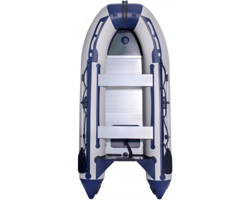 Лодка SMarine Standart-380 килевая, с алюминиевым пайолом и стрингерами - моторная надувная лодка ПВХ