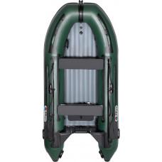 Лодка Smarine AIR STANDART-380 с надувным дном низкого давления (НДНД) - моторная надувная лодка ПВХ