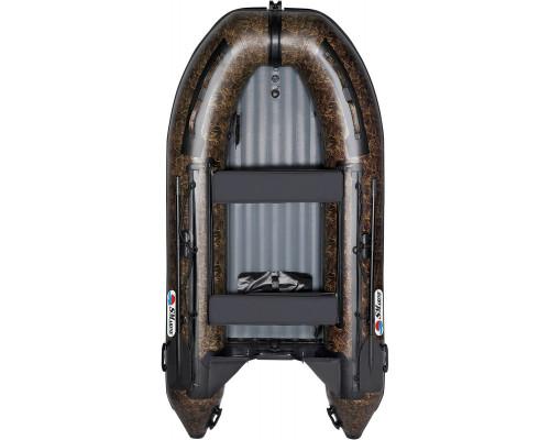 Лодка Smarine AIR STANDART-380 Камуфляж с надувным дном низкого давления (НДНД) - моторная надувная лодка ПВХ