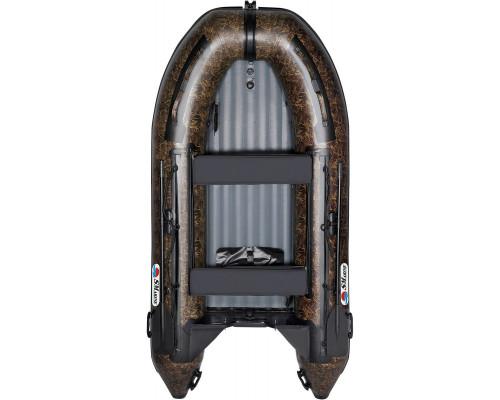 Лодка Smarine AIR-420 Камуфляж с надувным дном низкого давления (НДНД) - моторная надувная лодка ПВХ
