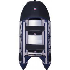 Лодка SMarine Max-330 килевая, с алюминиевым пайолом и стрингерами - моторная надувная лодка ПВХ