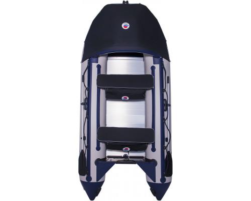 Лодка SMarine Max-550 килевая, с алюминиевым пайолом и стрингерами - моторная надувная лодка ПВХ