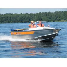 Wellboat-46 классика - алюминиевая моторная лодка