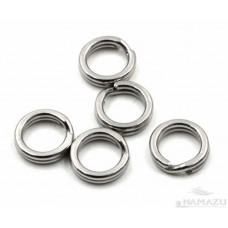 Заводное кольцо Namazu, цв. Cr, р. 7 ( d=5,6 mm), до 8 кг 10 шт N-FT-RA7