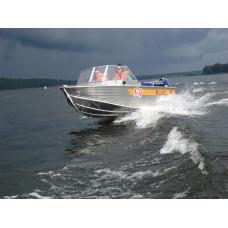 Wellboat-45M - алюминиевая моторная лодка