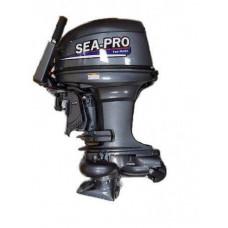Sea-Pro T 40JS&E с водомётной насадкой (дистанция)  2х-тактный лодочный мотор