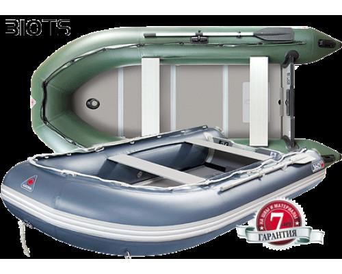 Yukona 310TS килевая, с алюминиевым секционным пайолом - моторная надувная лодка ПВХ