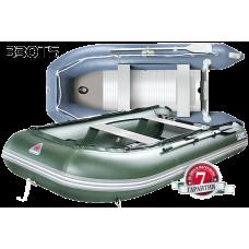 Yukona 330TS килевая, с фанерным пайолом со стрингерами - моторная надувная лодка ПВХ