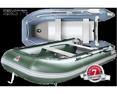 Yukona 330TS килевая, с алюминиевым секционным пайолом - моторная надувная лодка ПВХ