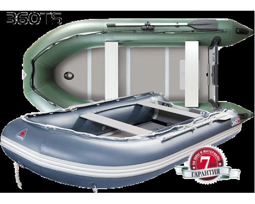 Yukona 360TS килевая, с алюминиевым секционным пайолом - моторная надувная лодка ПВХ