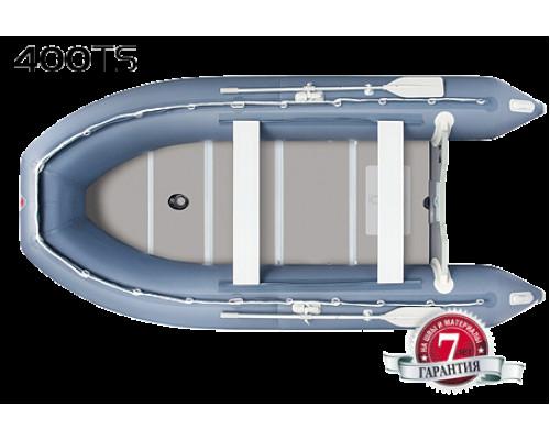 Yukona 400TS килевая, с фанерным пайолом со стрингерами - моторная надувная лодка ПВХ