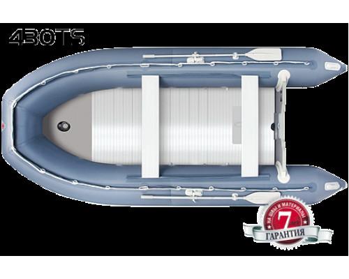 Yukona 430TS килевая, с фанерным пайолом со стрингерами - моторная надувная лодка ПВХ