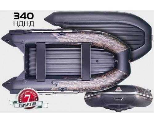Yukona 340 НДНД с надувным дном низкого давления - моторная надувная лодка ПВХ