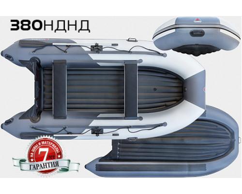 Yukona 380 НДНД с надувным дном низкого давления - моторная надувная лодка ПВХ