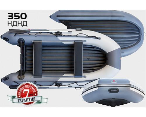 Yukona 350 НДНД с надувным дном низкого давления - моторная надувная лодка ПВХ