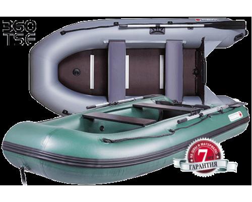 Yukona 360 TSE килевая, с алюминиевым секционным пайолом - моторная надувная лодка ПВХ