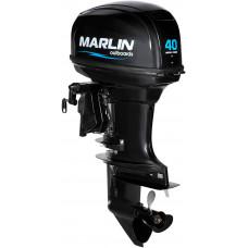 Marlin MP 40 AWRL c длинной ногой, дистанционным управлением - 2х-тактный лодочный мотор