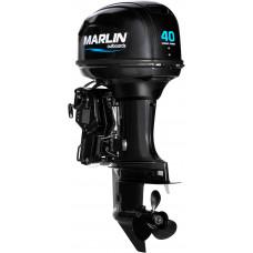 Marlin MP 40 AERTS с дистанционным управлением и электроподъёмом - 2х-тактный лодочный мотор