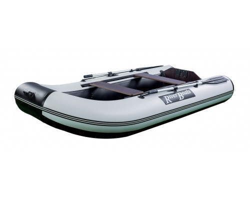 Riverboats RB-300 Лайт  плоскодонная моторная надувная лодка ПВХ