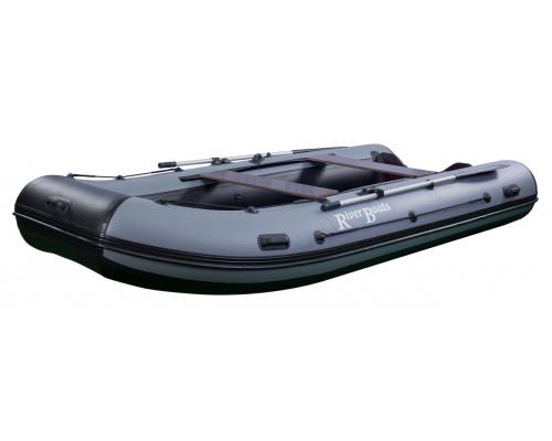 Riverboats RB-370 (НДНД) с надувным дном низкого давления - моторная надувная лодка ПВХ