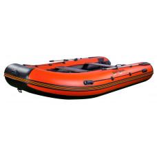 Riverboats RB-430 килевая, с фанерным пайолом со стрингерами - моторная надувная лодка ПВХ