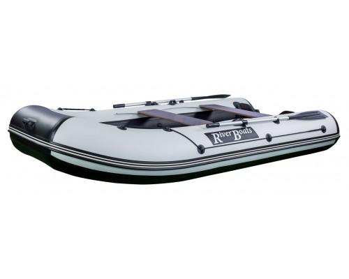 Riverboats RB-320 (НДНД) с надувным дном низкого давления - моторная надувная лодка ПВХ