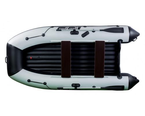 Riverboats RB-300 (НДНД) с надувным дном низкого давления - моторная надувная лодка ПВХ