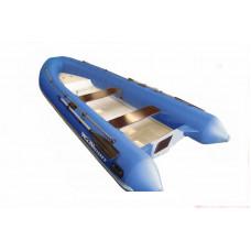 WinBoat 390R с плоской палубой, носовым рундуком - классический РИБ - жёстко-надувная моторная лодка
