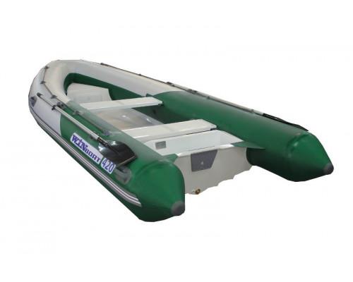WinBoat 420GT повышенной мореходности, с рундуками -  классический РИБ - жёстко-надувная моторная лодка