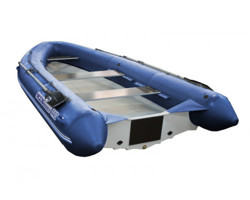WinBoat 440R с малыми рундуками -  классический РИБ - жёстко-надувная моторная лодка