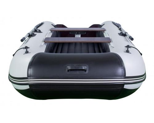 Riverboats RB-350 (НДНД) с надувным дном низкого давления - моторная надувная лодка ПВХ