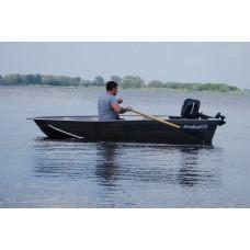 Windboat 35 румпельная - алюминиевая моторная лодка