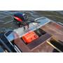 Windboat 38M румпельная - алюминиевая моторная лодка