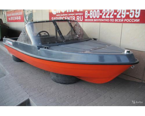 Лодка моторная Riverboat 41 Delta капот