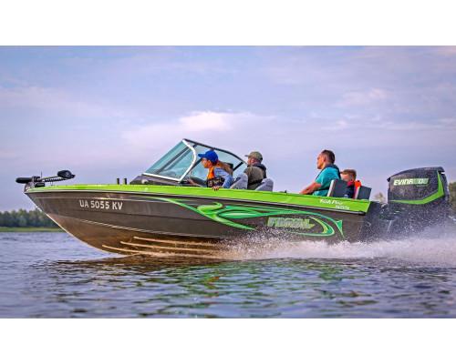 Finval 555 FishPro двухконсольная - алюминиевая моторная лодка