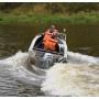 Wellboat-42 NexT консоль - алюминиевая моторная лодка