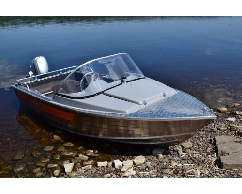 Wellboat-42 NexT классика - алюминиевая моторная лодка