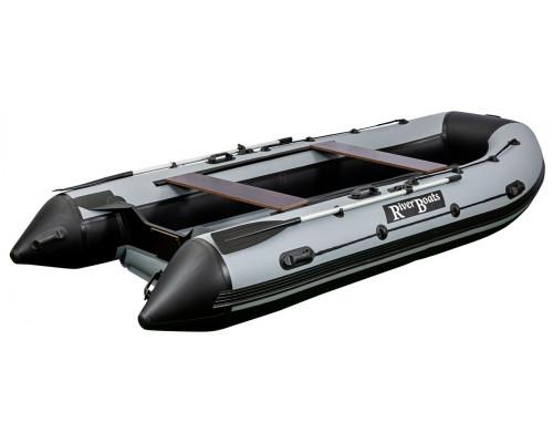 Riverboats RB-390 (НДНД) с надувным дном низкого давления - моторная надувная лодка ПВХ