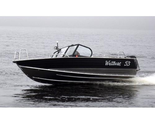 Wellboat-53 Fish - алюминиевая моторная лодка