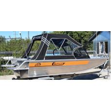 Wellboat-47DC - алюминиевая моторная лодка