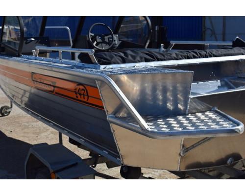Wellboat-47MDC - алюминиевая моторная лодка